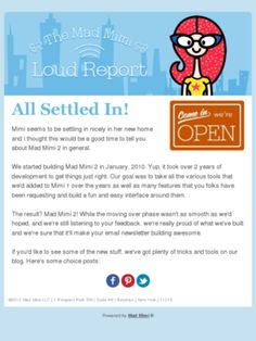 Check out this Mad Mimi newsletter #madmimi