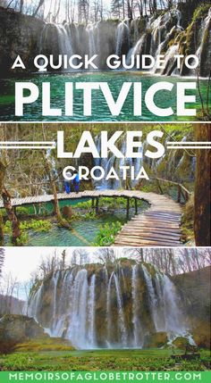 Plitvice Lakes National Park in Croatia is full of sparkling emerald lakes, cascading waterfalls and peaceful walking trails. PEACE and Invigorate and travel Europe Travel Guide, Europe Destinations, Asia Travel, Europe Budget, Backpacking Europe, Hawaii Travel, Holiday Destinations, Budget Travel, Italy Travel
