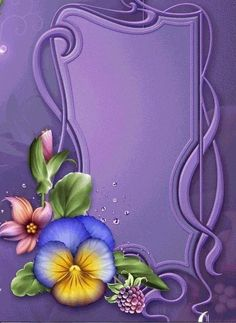 Moonbeam's Summer Pansies, is a digitally painted colorful Pansy design resource rendered in summer hues. 2 Clipart, Frame Clipart, Frame Background, Paper Background, Folk Art Flowers, Flower Art, Printable Frames, Borders And Frames, Paper Frames