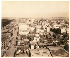 Sydney looking south in the 1890s.