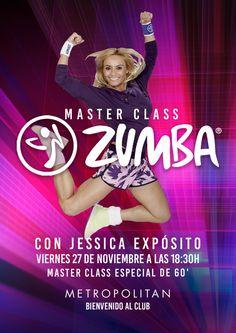 Master Class de Zumba con Jessica Expósito en Metropolitan Begoña.