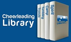 Cheer library! Free guides filled with tips for try outs, competitions, uniforms and more!