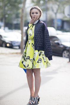 Paris Fashion Week street style (Vogue.com UK)