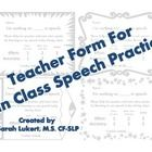 I've been trying to find a way to encourage classroom practice for my middle school artic students in that reading/generalization stage.  The stude...