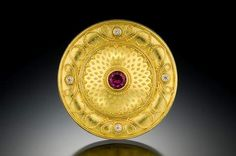 The art ancient Etruscans inspires jewelry Evanston's Jonathan Lee Rutledge.