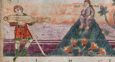 Salterio di Stoccarda IXsecolo folio 55r
