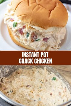 Instant Pot Crack Chicken for the ultimate moist and flavorful chicken you'll love in sandwiches, salads, or pasta. Made with simple ingredients and less than 20 minutes in the pressure cooker, it's perfect for busy weeknight dinners.