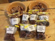 R&D kitchen at Rype & Readi seriously examines local pecans paired with premium chocolate ice cream. Next phase of research to evaluate impact of fruit; blackberries, bananas, & blueberries! Support this important research by liking us and sharing with your friends on Facebook! https://www.facebook.com/rypenreadi