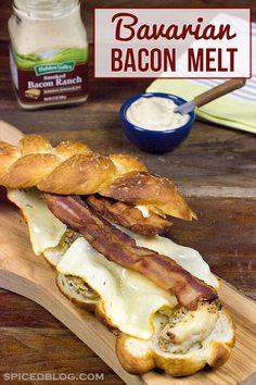 Bavarian Bacon Melt | Spiced