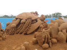 Image detail for -... amazing sand art sculptures the disney sculptures are just fantastic
