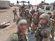 Öso ve Türk askeri  Turkısh soldiers in syria