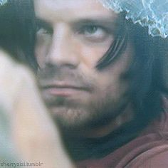 THIS IS WHY SEB STAN IS AN AMAZING ACTOR. HE IS THE DEFINITION OF SUNSHINE BUT LOOK HOW TERRIFYING HE LOOKS AS THE WINTER SOLDIER