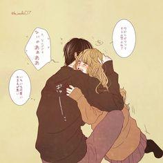 Anime Cupples, Anime Love, Kawaii Anime, Manga Couple, Anime Couples Manga, Cute Anime Coupes, Couple Drawings, Romance, Character Design References