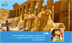 Divya is off to the land of Pyramids! Take a look at what lies in store for her: http://cnk.com/gydegypt