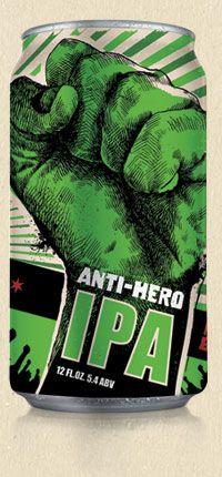 Anti-Hero IPA | Revolution Brewing | Chicago, Illinois