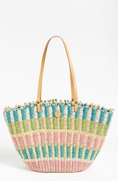 Tory Burch Straw Tote, Extra Large available at #Nordstrom