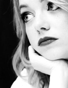"""Emma Stone - """"Drama is hard for me. Crying is much harder for me than laughter."""""""