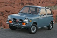Honda N600. As a teenager I drove one of these. All 6 foot 1 inch of me! lol!