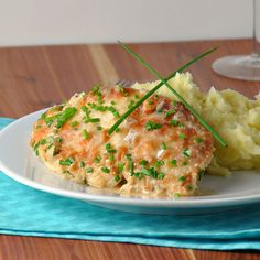 #RECIPE - Chicken with a Creamy Chive Sauce