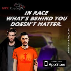 IN RACE WHAT'S BEHIND YOU DOESN'T MATTER. #fastcars #racinggame #iosgames #carracing
