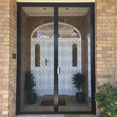 Kings Security Doors - Scroll Design - Grand Entrance Double Door : door kings - Pezcame.Com