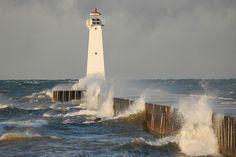 Lighthouse, Lake Ontario, Sotus Point, NY.