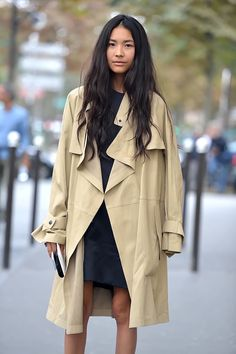 the perfect trench (image: thefashionspot)