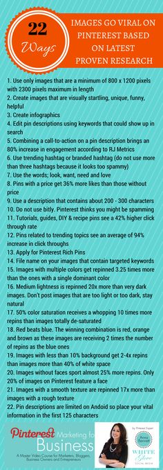 #PinterestExpert Shares Pinterest Cheat Sheet for 2014: 22 WAYS TO MAKE YOUR PINS GO VIRAL