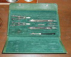 Vintage Ionic Drafting Tool Set Germany 55-0505