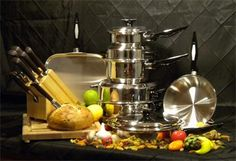 Great dishware and pots and pans for the happy couple!- Home