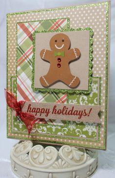 Christmas Cards Gingerbread, Christmas Cricut Cards, Christmas Card Ideas, Gingerbread Decoration, Xmas Cards, 50 Gingerbread, Holiday Cards, Gingerbread ...
