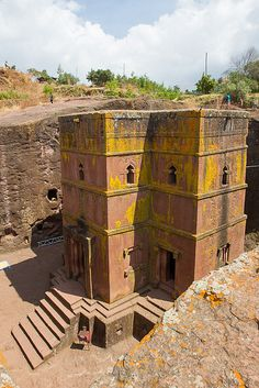 Ethiopia. Rock-Hewn Churches, Lalibela. Unesco World Heritage Site