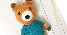 I'm excited to introduce you to Eli the fox, my newest pattern in the Forest animals series! He is soft, cuddly and courageous! Best ...
