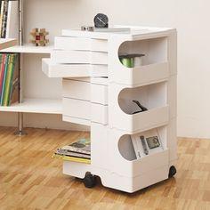Joe Colombo Boby Office Organizer - dream version of art storage