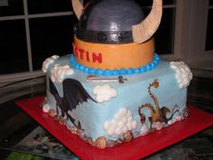 "Love ""Eden"" Cake!: How To Train Your Dragon Cake"