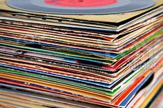 Second hand vinyls
