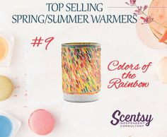 Colors of the Rainbow Warmer is on the list of top selling warmers for the Spring/Summer 2017 Season. This warmer is decorated using recycled glass bracelets from India.