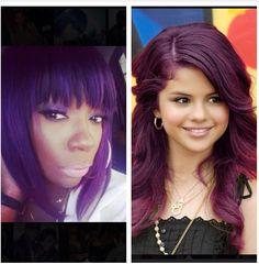 Ihearthairinc - Is purple the new blonde?