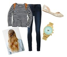 """Love the watch"" by prepallday ❤ liked on Polyvore featuring Acne Studios, J.Crew and Steve Madden"