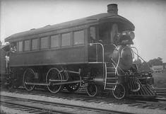 """Lake Shore and Michigan Southern Railroad (New York Central Lines) 4-4-0 inspection locomotive No. 30, """"Cleveland."""""""