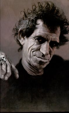 I outlived Michael Jackson. Bet you didn't see that coming --Keith Richards.I laughed way too hard at this. Keith Richards, Rolling Stones, Death Of Michael Jackson, Sebastian Kruger, Photo Portrait, We Will Rock You, Funny Bunnies, Foto Art, Caricatures