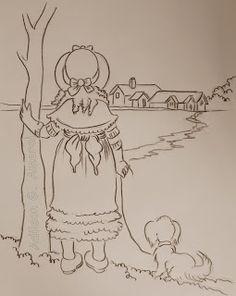 Arte * Vida: Menina olhando a paisagem