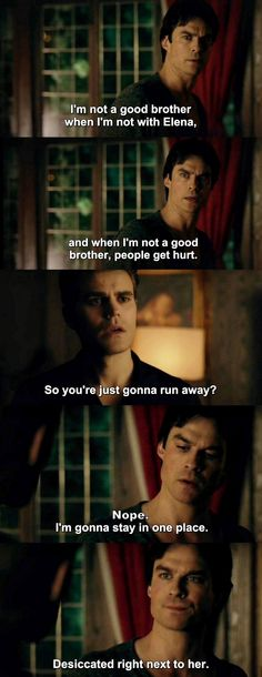 The Vampire Diaries TVD 7X15 - Damon and Stefan