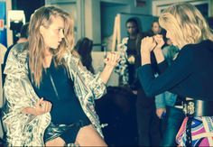 Backstage — Emilio Pucci Spring 2014 — Photographed by Margherita Chiarva