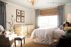 Beck Design Gorgeous Boy S Nursery Guest Bedroom With Ivory Walls Paint Color Gold Jenny Lind Crib