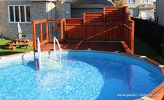 Pool fences are excellent for privacy as well as protection. Yet you can still have a good time setting up your pool fence. Here are 27 Awesome pool fence ideas! Above Ground Pool Lights, Small Above Ground Pool, In Ground Pools, Patio Plan, Pool Deck Plans, Wood Pool Deck, Pool Fence, Cedar Deck, Backyard Pool Landscaping