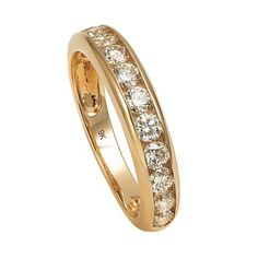 1 Carat of Diamonds 9ct Gold Channel Set Ring - Diamond - Rings - Jewellery - The Warehouse
