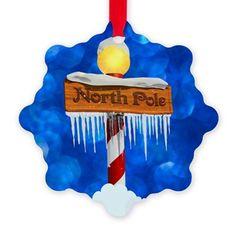 North Pole Ornaments Ornament