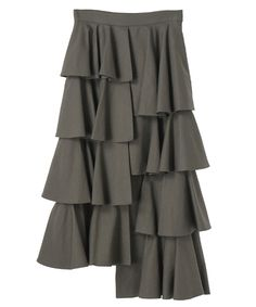 【CLANE】(クラネ)DOUBLE FACE TIERED SKIRTの通販   STUDIOUS ステュディオス(14109-6051)   STUDIOUS ONLINE STORE