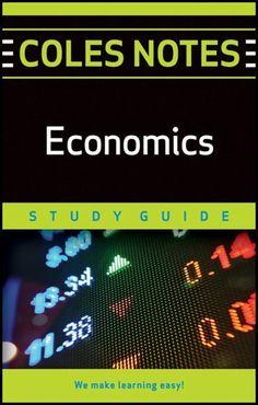 Coles Notes Study Guides  Economics